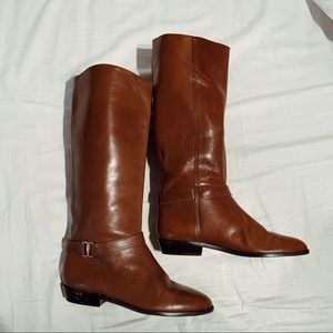 Vintage Etienne Aigner Shelby Riding Boots